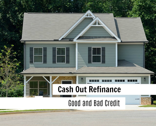 cash out refinance with poor credit
