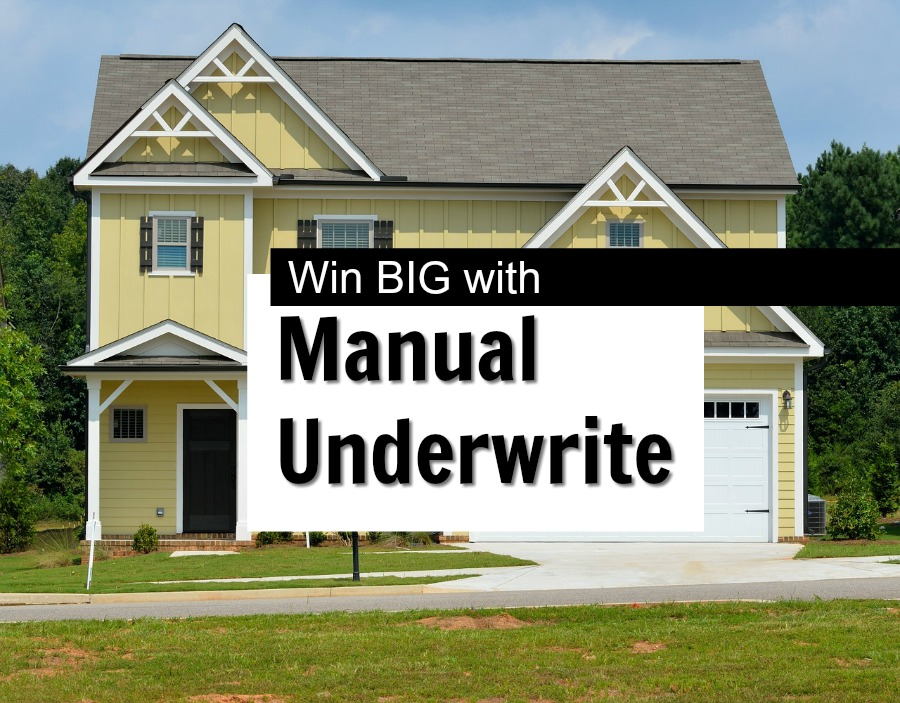 what is manual underwriting